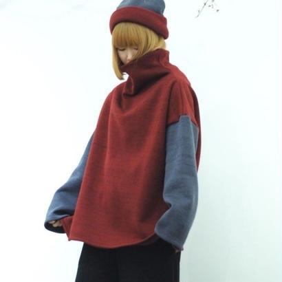 Hiroyuki Watanabe/炬燵薫るニットプルオーバー (enji)