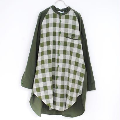 Hiroyuki Watanabe/夢で着ていたロングシャツ(khaki)