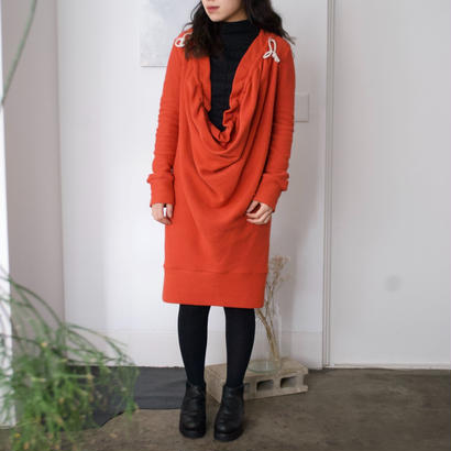 3tsui/drape one-piece(red)