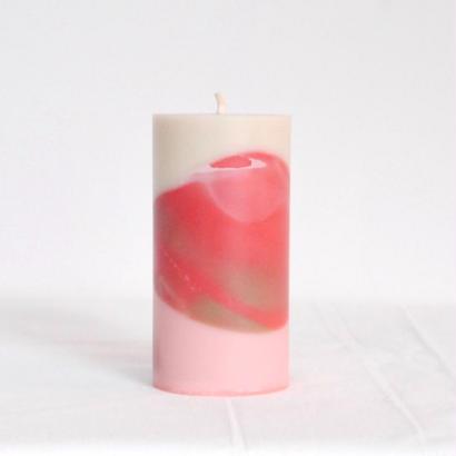 c'è c'è/soywax candle(SIZE a・salmon pink)