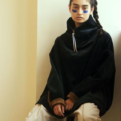 Hiroyuki Watanabe/コーデュロイ晴着プルオーバー(navy×brown)