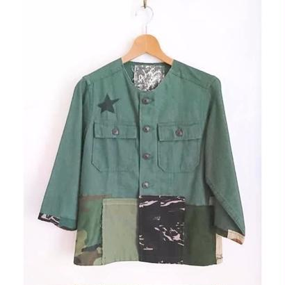 Remake military jacket