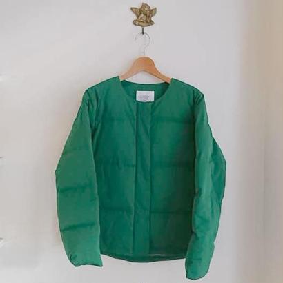no collar down jacket