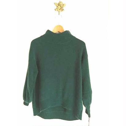 hi neck knit