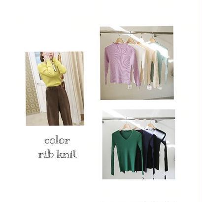 rib V knit