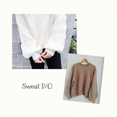 Knit sleeve P/O