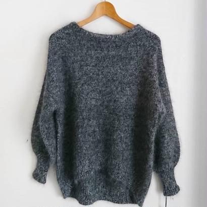 bottle neck knit