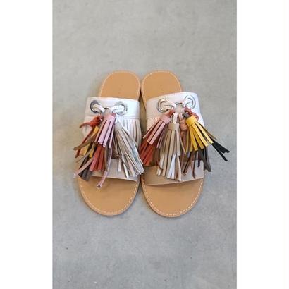 fringe sandal