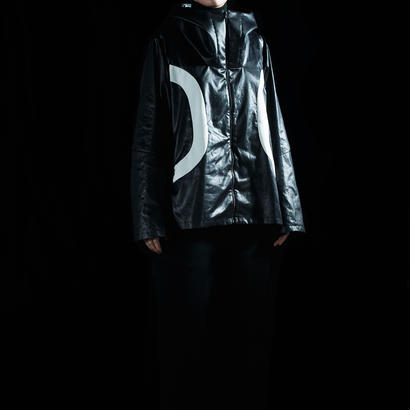 Floating metal Parka for HMD (black×white)