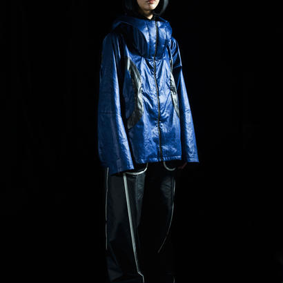 Floating metal Parka for HMD (blue×black)