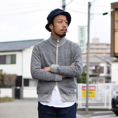 """【完売御礼】Kepani  STAND NECK SWEAT JACKET """"GREAT SMOKY"""" GRY スタンドネックスウェットジャケット""""グレートスモーキー"""" グレー"""