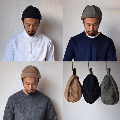 【完売御礼】DECHO TOQUE HAT デコー トークハット ブラック/ベージュ/オリーブ