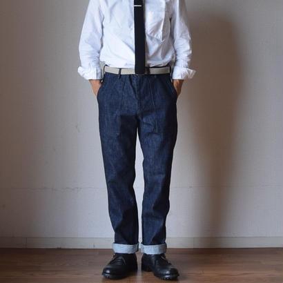 【定番アイテム】F.O.B FACTORY DENIM BAKER PANTS エフオービーファクトリー デニムベイカーパンツ