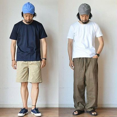 【大人の為の最高級Tシャツ】Re made in tokyo japan Tokyo Made ドレスTシャツ ホワイト/ネイビー