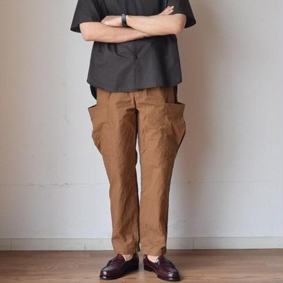 【完売御礼】STILL BY HAND  スティルバイハンド  イージーカーゴパンツ キャメル
