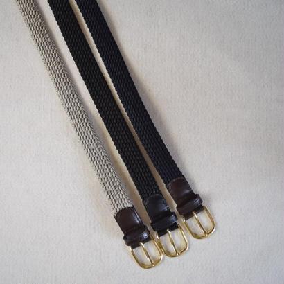 【定番アイテム】ROMA ELASTIC BELT 3COL ローマ エラスティックメッシュベルト 3カラー【正規取り扱い品】
