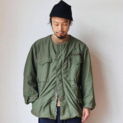【完売御礼】Sunny Side Up サニーサイドアップ リメイクM-65 ノーカラーフィールドジャケット オリーブ