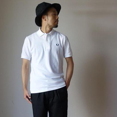 """""""M3""""THE ORIGINAL FREDPERRY SHIRT オリジナル ノーライン ポロシャツ WHT ホワイト 英国製【正規取り扱い品】"""