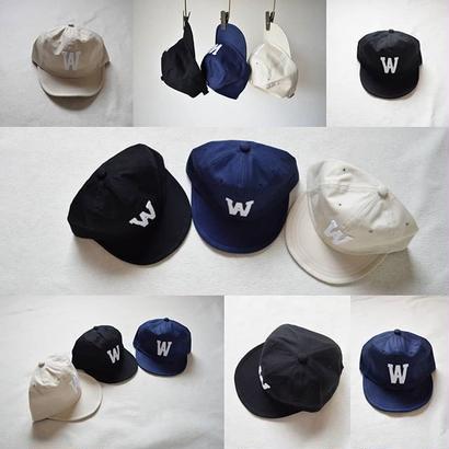 """【ご予約承り中】weac ウィーク ベースボールキャップ""""ウィーキャップ"""" ネイビー/ブラック/ベージュ"""
