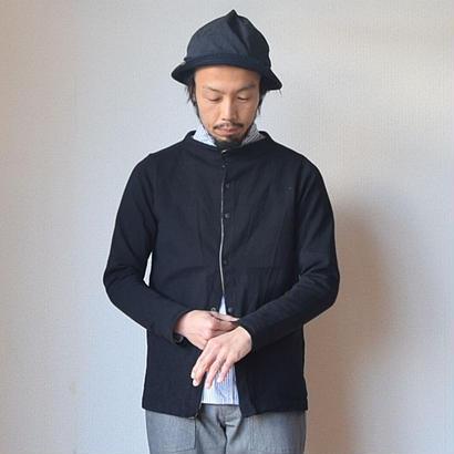 【ガンジーシリーズの新モデル】nisica ニシカ ガンジーカーディガン ブラック