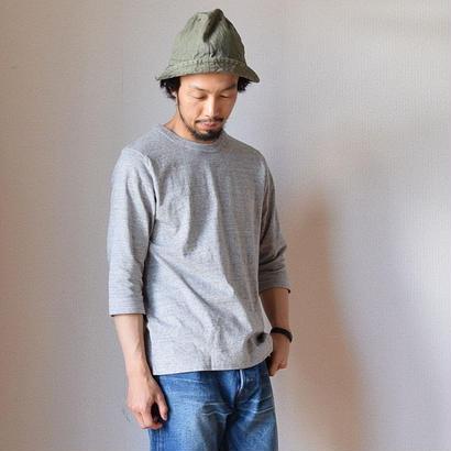 【完売御礼】BETTER MID WEIGHT CREW NECK 3/4 SHIRT GRY ベター クルーネック七分袖Tシャツ  グレー