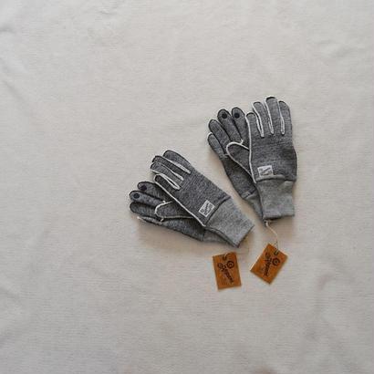 """【ラスト1点!】Kepani SWEAT GLOVE """"SAGUARO-2"""" GRY ケパニ スウェットグローブ グレー【送料無料】"""