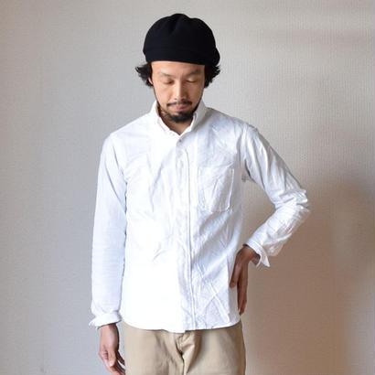 【2017秋冬分入荷しました!】nisica B.D SHIRT WHT ニシカ ボタンダウンシャツ ホワイト