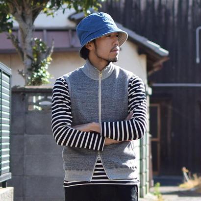 """【定番アイテム】Kepani  STAND NECK VEST  """"Pinnacle Park GRY ケパニ スタンドネックベスト""""ピナクルパーク"""" グレー"""