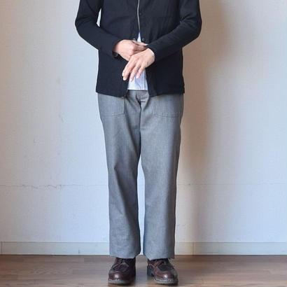 【大人のベイカー】nisica mokusiro by nisica  ニシカモクシロ ベイカーパンツ 杢グレー