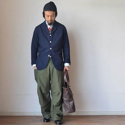 【サマーウールの紺ブレザー】WORKERS Lt CREOLE JACKET ライトクレオールジャケット ネイビー