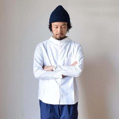 【2017秋冬分入荷しました!】nisica GANDHI NECK SHIRT ニシカ ガンジーネックシャツ ホワイト