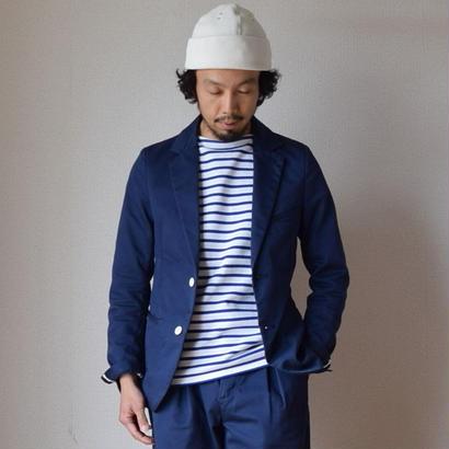 【2017春夏新作】KAFIKA  COOLMAX  TAILORED JACKET カフィカ クールマックス テーラードジャケット ネイビーブルー