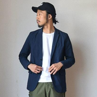 【シーズンレスで使える万能ジャケット】Re made in tokyo japan  コットンナイロン カーバオールジャケット ネイビー