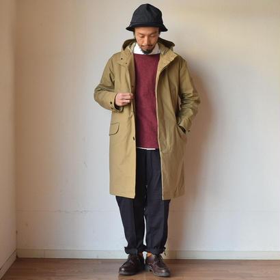 【完売御礼】STILL BY HAND HOODED COAT BEIGE スティルバイハンド  高密度コットン ライナー付きフードコート ベージュ