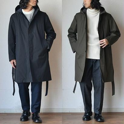 【3シーズン対応の全部入りコート】STILL BY HAND スティルバイハンド  シンサレートライナー付きフードコート ブラック/ブラウン