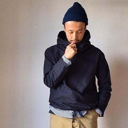 【2017別注第2弾!】nisica SMOG PARKER BLK ニシカ スモッグパーカー ブラック