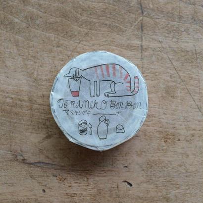 トラネコボンボン マスキングテープ A 1巻パック