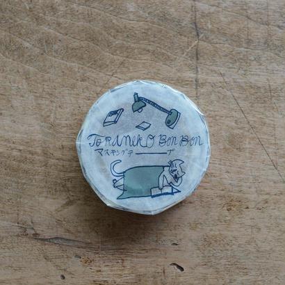 トラネコボンボン マスキングテープ B 1巻パック