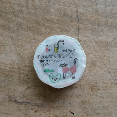 トラネコボンボン マスキングテープ C 1巻パック