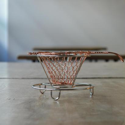 手編みコーヒードリッパー(1~2杯用)