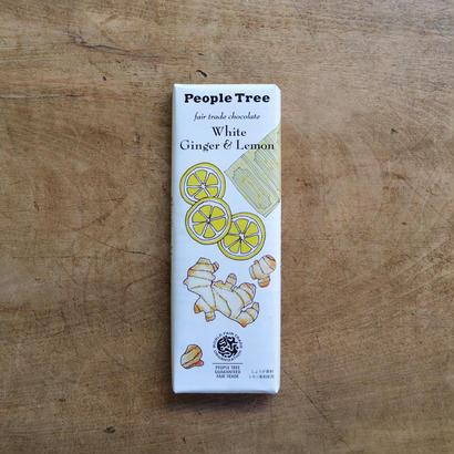 フェアトレード・チョコレート / ホワイト ジンジャー&レモン