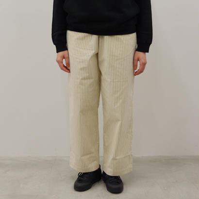 THE HINOKI / コットン馬布クロス パジャマパンツ(ストライプ)/ Lady's / size 0