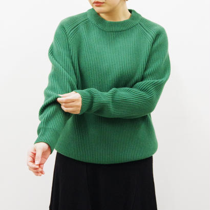 bunt / 5G GRANDFATHER SWEATER / Lady's / col.グリーン / size 2