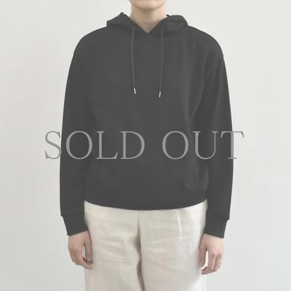PULETTE / Wool Jersey Hoodie / col.ブラック