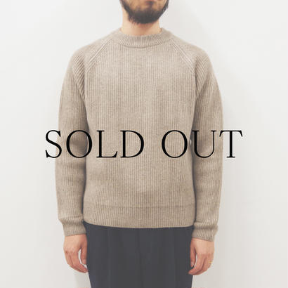 bunt / 5G GRANDFATHER SWEATER / col.オートミール / size 3