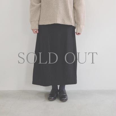 pssst,sir / trom skirt / col.ブラック