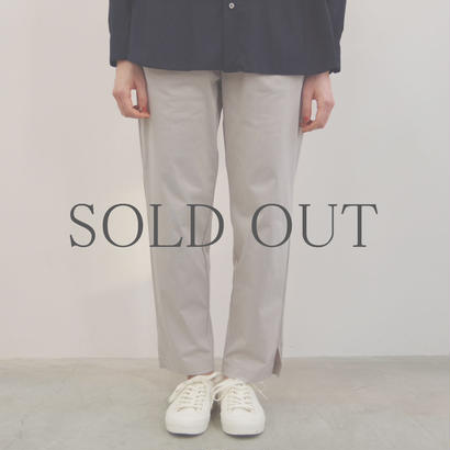 PULETTE / Jersey Pants / col.ライトグレー