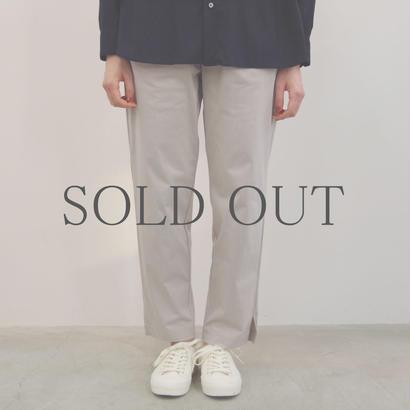 PULETTE / Jersey Pants / col.ライトグレー