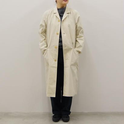 THE HINOKI / コットン馬布クロス パジャマコート(ストライプ)/ Lady's / size 1