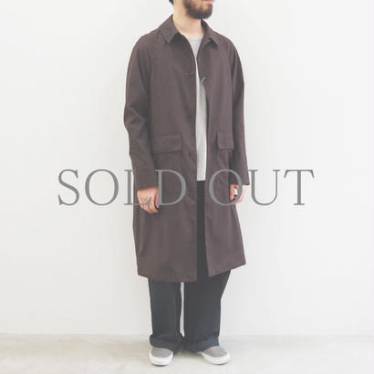 bunt / SW SOUTIEN COLLAR COAT / col.ブラウン / size 2